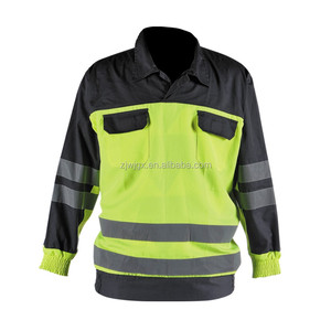Industrial reflective uniform jacket for work