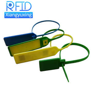 Security zip seal tag hf/uhf nfc rfid cable tie tag