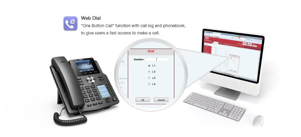 Fanvil X4 IP Phone 4SIP Lines