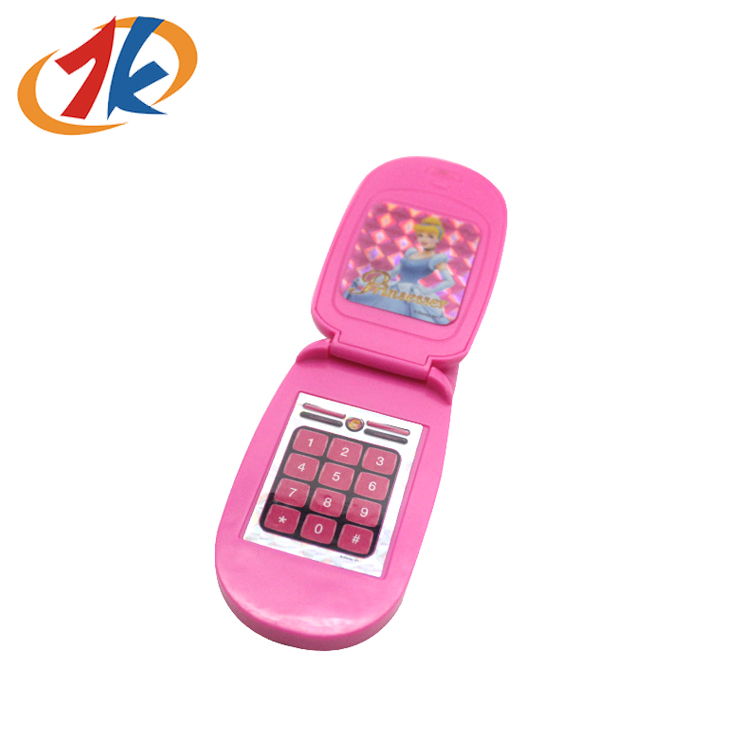 hot sale Lovely Plastic Musical toy mobile phone for kids
