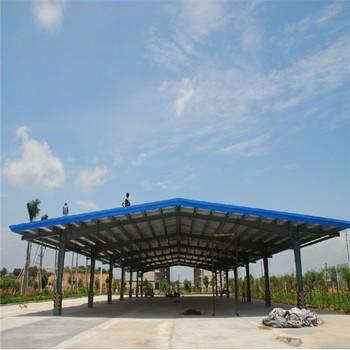 Economical Lightweight Steel Construction Prefabricated Garage Price