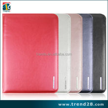 OEM pu leather case for ipad 5 air with stand
