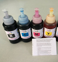 High quality refill ink T6641, T6642, T6643, T6644 for Epson L101, L200,L300,L210,L310,L550, L220, ET2500, ET4500 etc printer