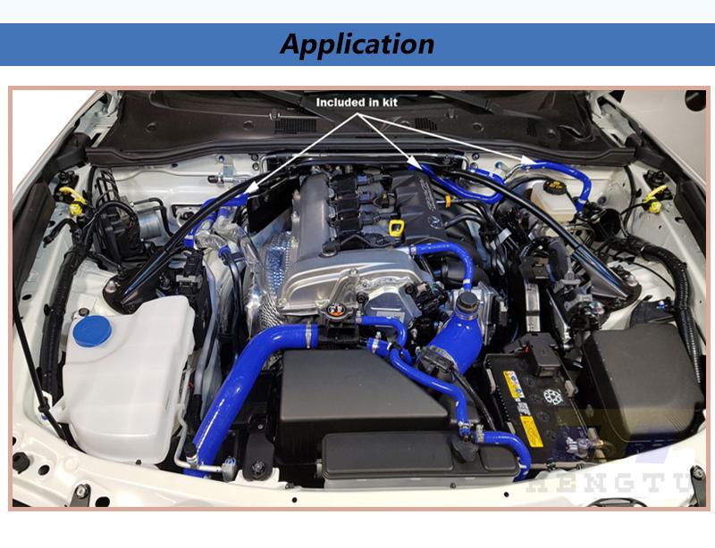 Hoge druk hittebestendige automotive Siliconen koppeling slang bult siliconen slang