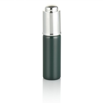 5ml 10ml 15ml  manufacturer  green  glass  cosmetic tubes packaging  essential oil glass bottle with press pump dropper