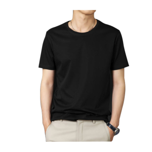 Custom soft 100% cotton mens blank t-shirt in europe