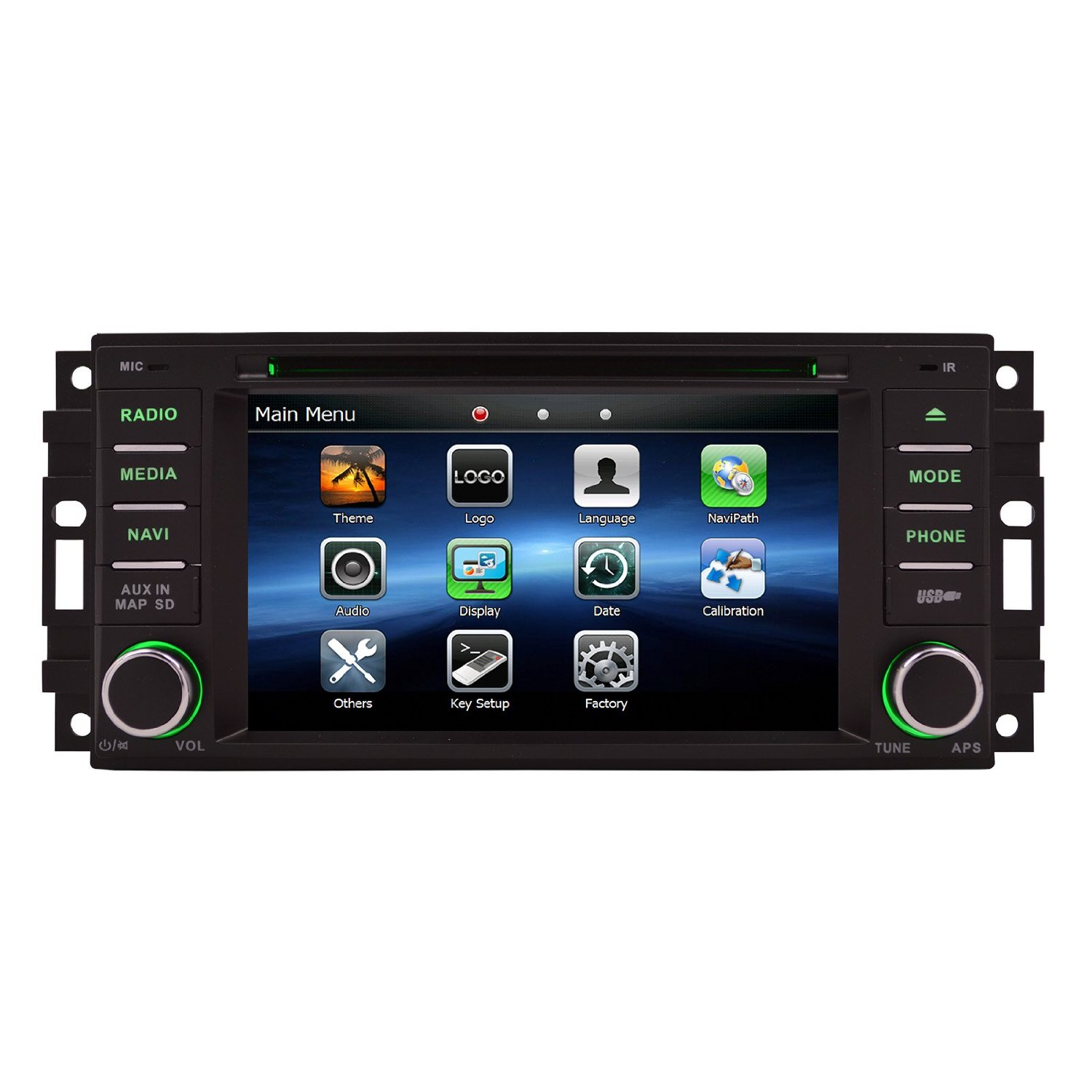 OTTONAVI Chrysler 200 2008-2012 K-series Navigation Radio