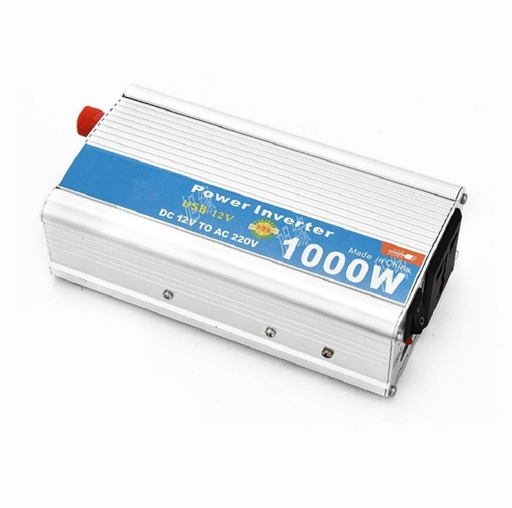 Car Power inverter 1000W with USB car inverter 12V to 220V car voltage converter cigarette lighter adaptor Power Inverter