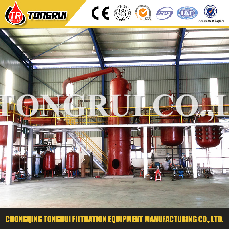 Refining Used Engine Oil Treatment Regeneration Machine