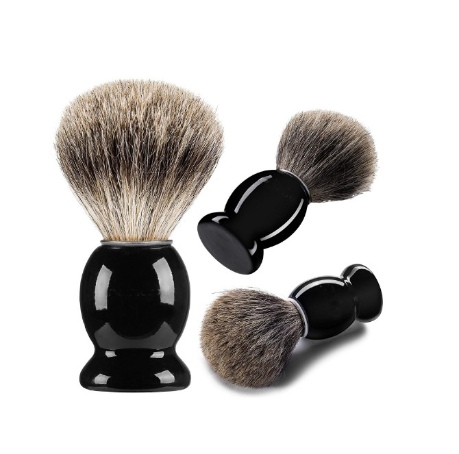 Lange Da Luxus BadgerShaving Pinsel