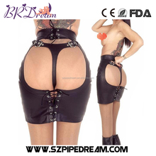 Leather Sex Bondage Spanking Skirt Women Black Temptation Catsuit Porn For Women