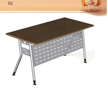 Mobilier de bureau sur mesure en métal matériel table pliante