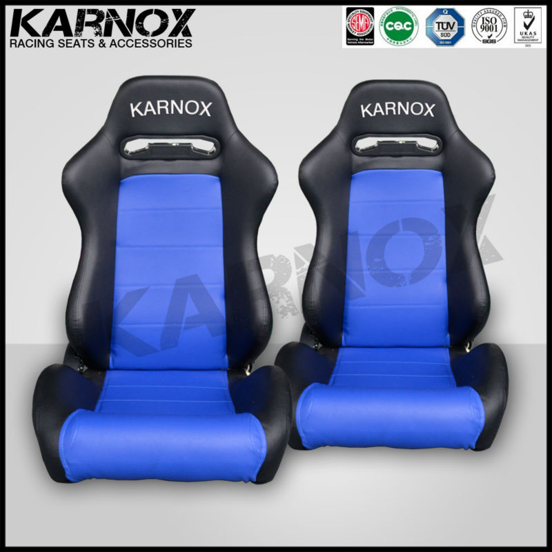 Karnox Black And Blue Adult Car Booster Seat - Buy Adult Car Booster