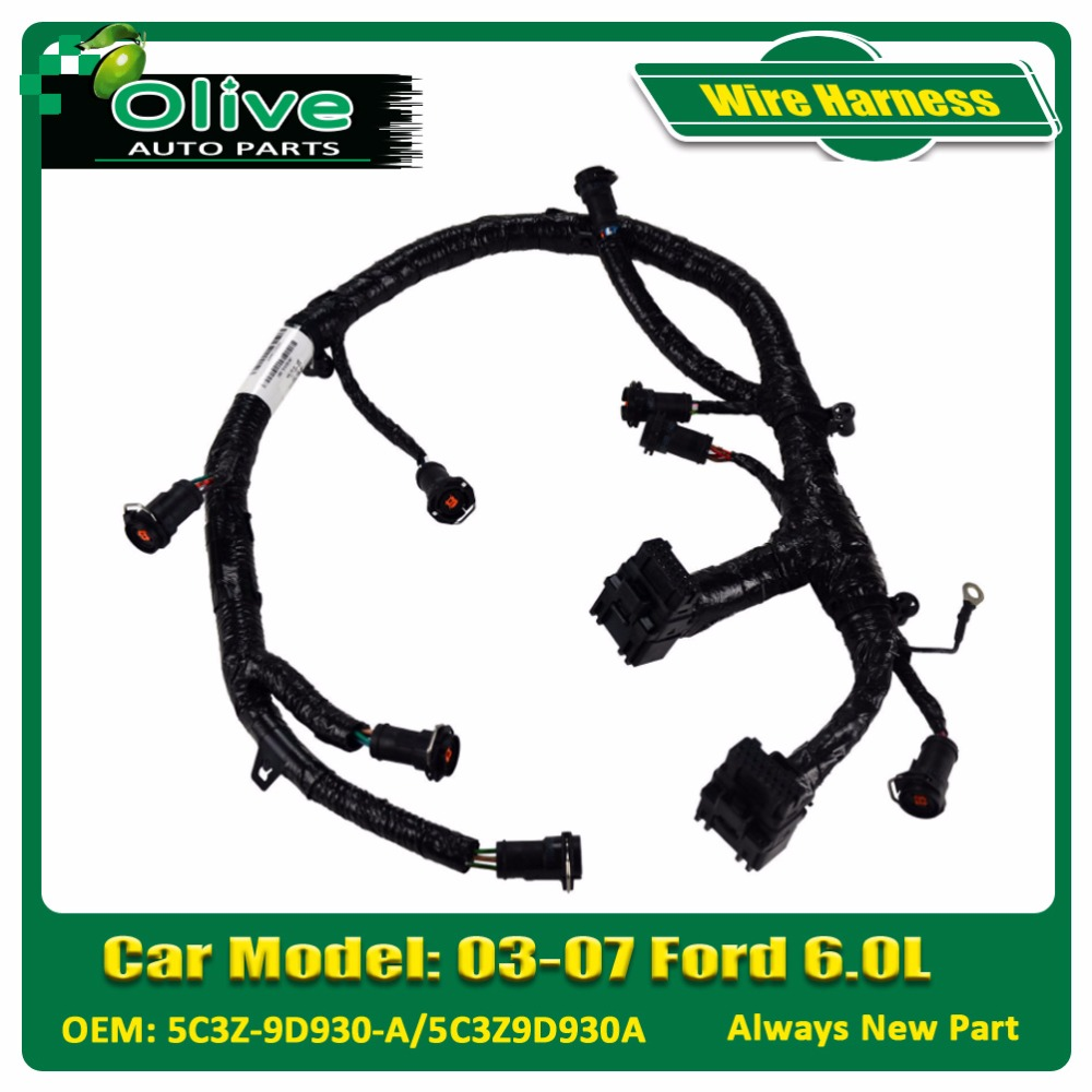 Fuel Injector Module Wiring Harness Assembly For 03 07 Ford 60l Powerstroke Diesel 5c3z 9d930 A Buy Auto Harnessfor 60lfuel Wire