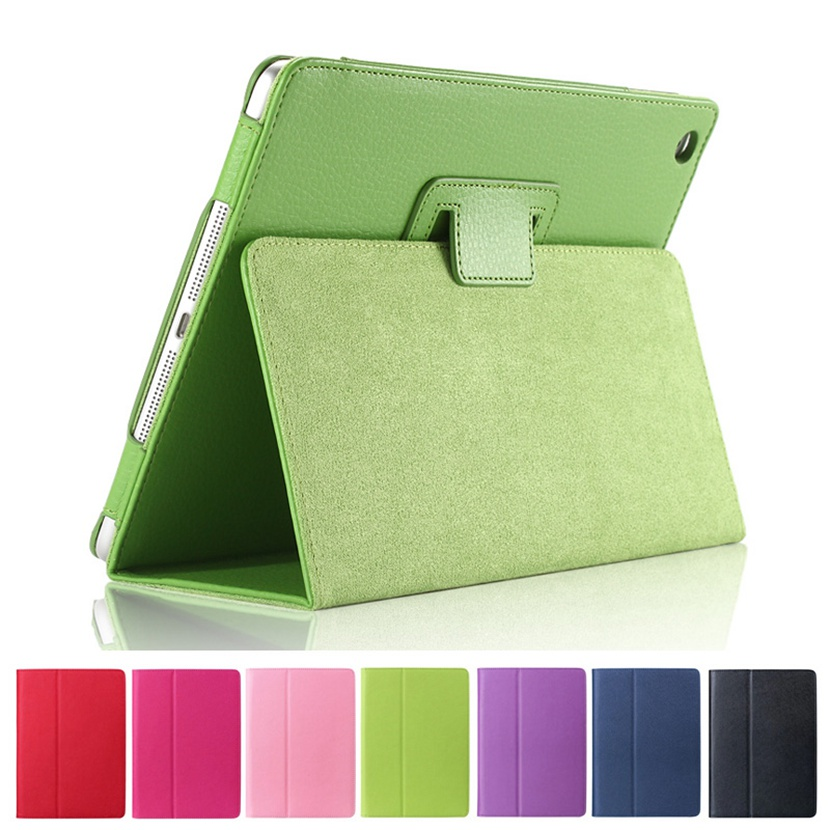 Auto Wake Up Sleep Flip PU Leather Magnetic Case Cover with Smart Stand Holder For ipad Mini 1 2 3