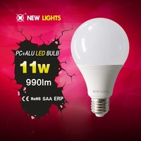 Factory direct sale price hot sell high quality 100lm/w led bulb E27 11w