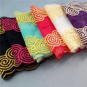 15cm multiple colour elastic lace & stretch lace lace trim wholesale buy fabric from china T1708