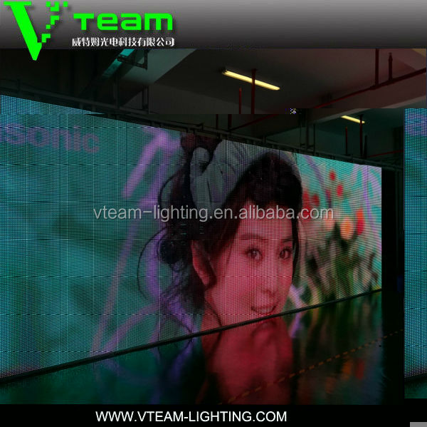 2014 Outdoor Led Curtain/flexible Led Screen/soft Led Display