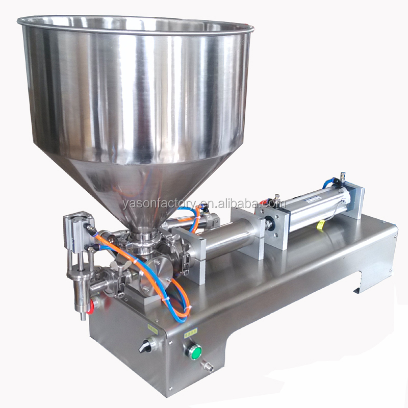 5-100 ml Semi-Automatic Pneumatic Single Head Piston Paste Filling Machine