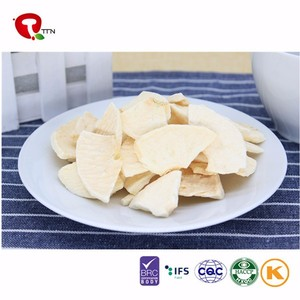 TTN 2018 Freeze Dried Apple Dices Sliced Apple Chips