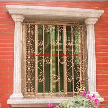 Design Safety Wrought Iron Window Grill
