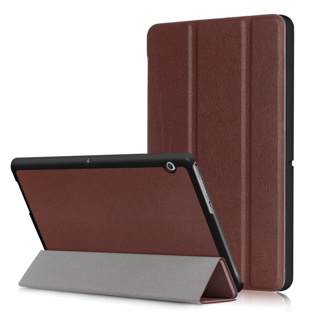 Responsible Colorful Advanced Protection Cover Smart 3 Folds Stand Leather Case Shell For Huawei Mediapad M5 8.4 Inch Tablet Case Computer & Office film
