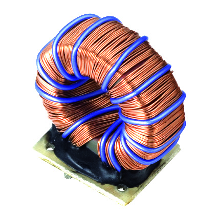 Types of toroidal iron-powder core inductor for DC converter