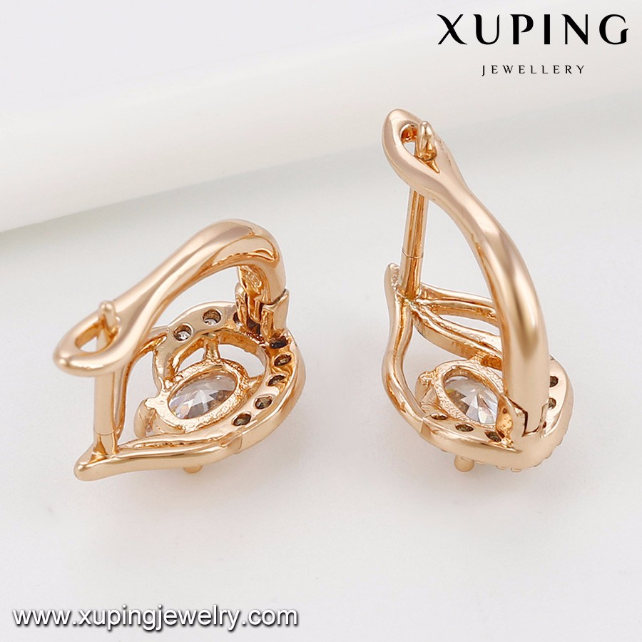 92029 Simple Gold Earring Designs For Women,Latest Model Fashion ...