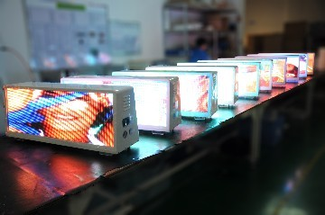 Taxi top waterproof led display for outdoor advertising