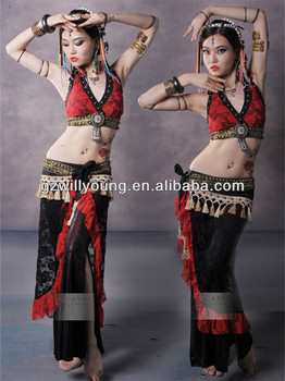 56f277bf5 2014 Newest High Quality Belly Dance Tribal Costume Hot Egyptian ...