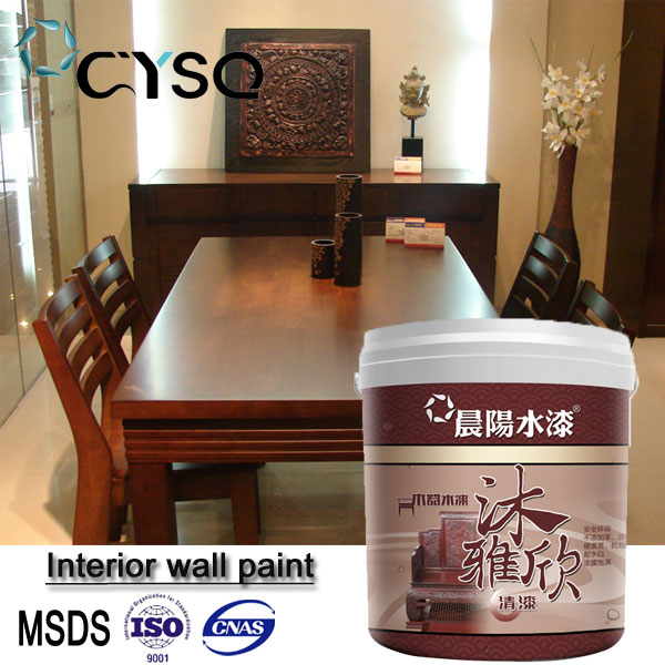 High gloss water based polyurethane wood color spray varnish paint