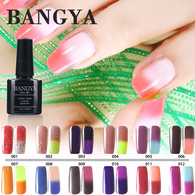 Invierno Uñas Cambio De Temperatura Color Gel Uv Soak Off Nail ...