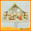 cartoon shape Polyresin Religious Items Nativity Set