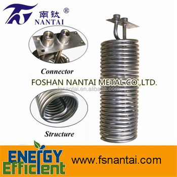 316 Stainless Steel Evaporator Coil