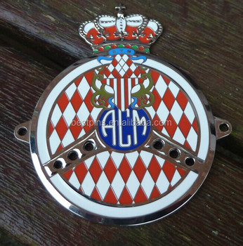 Automobile Club Of Monaco Car Grill Badge,European Acm Car Emblem ...