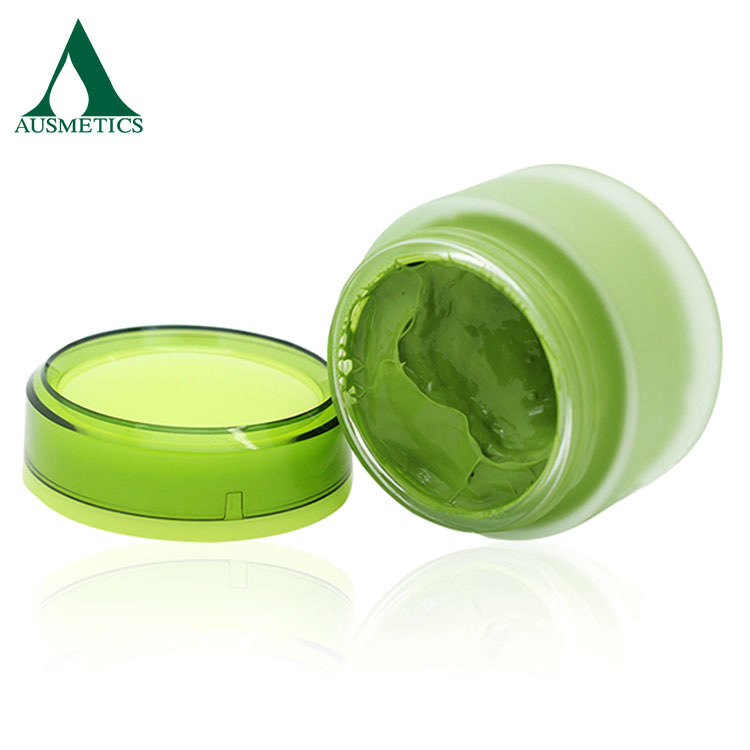 OEM Chinese 50g Facial Cream Anti-aging Hydration Formula Matcha Face Cream