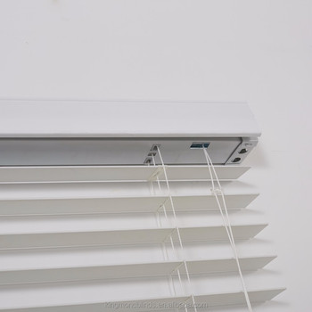 "2"" white faux wood slats venetian window shades PVC Curtain Shutters wooden slat blinds"