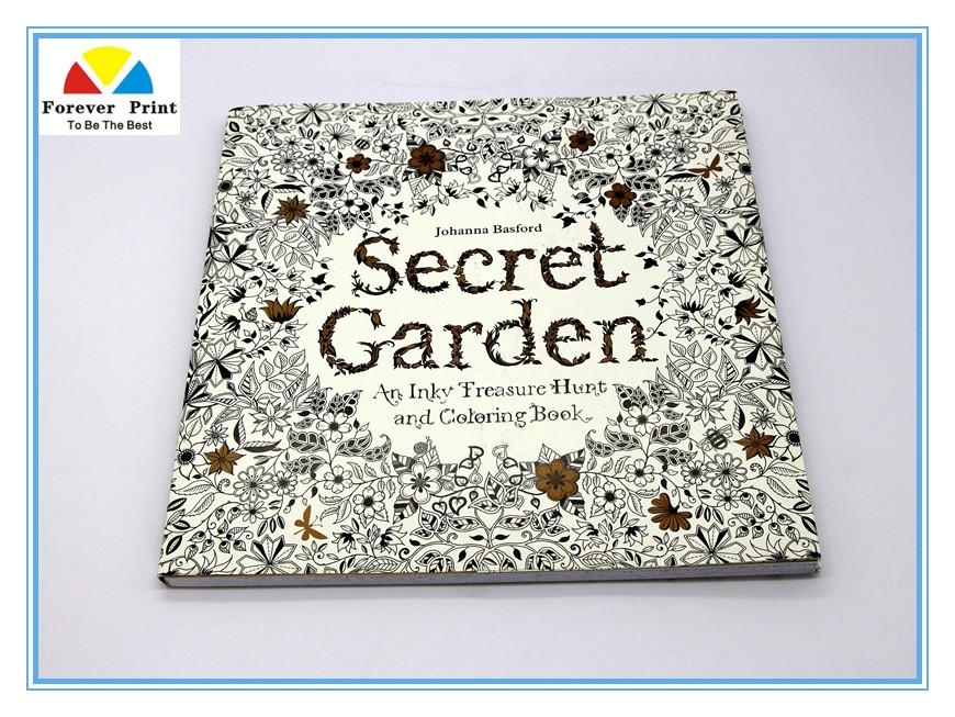Gizli Bahçe Yetişkin Boyama Kitabı Yetişkinler Için çizim