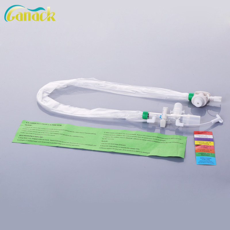 OEM disposable oem&odm suction catheter made of medical pvc