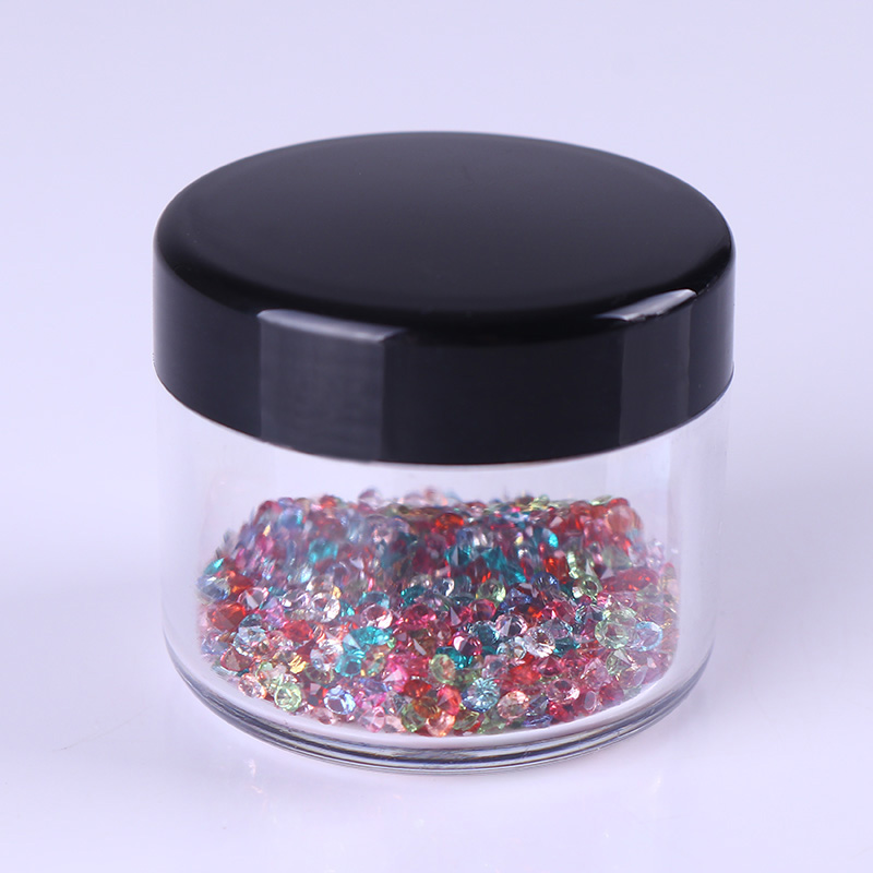 Plastic Empty Nail Storage Box Nail Beads Jewelry Decoration Case Container Nail Art Organizer Manicure Tool