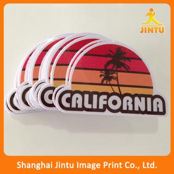 Custom die cut sticker vinyl sticker printed custom shape bumper sticker
