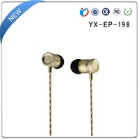 custom high -quality wired stereo earphones with mic
