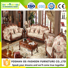 Luxury cheap antique young people best wooden sofa set