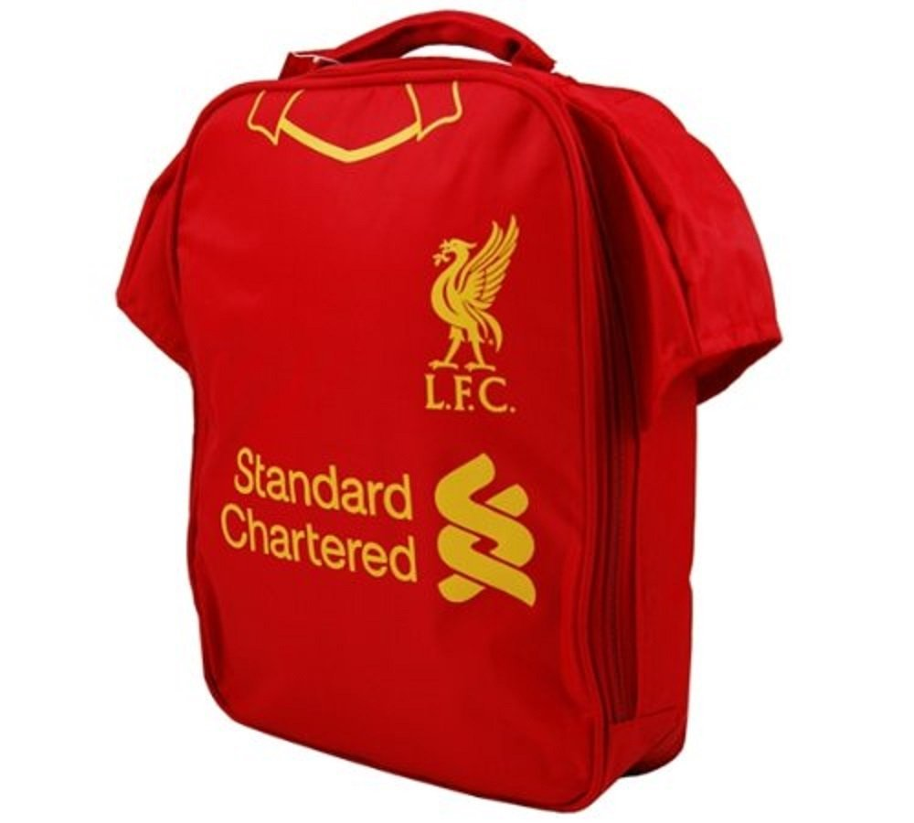 58c9e4c77 Get Quotations · Official Football Merchandise Official Football Team Kit  Lunch Bag Liverpool Fc Approx 29 X 22 X