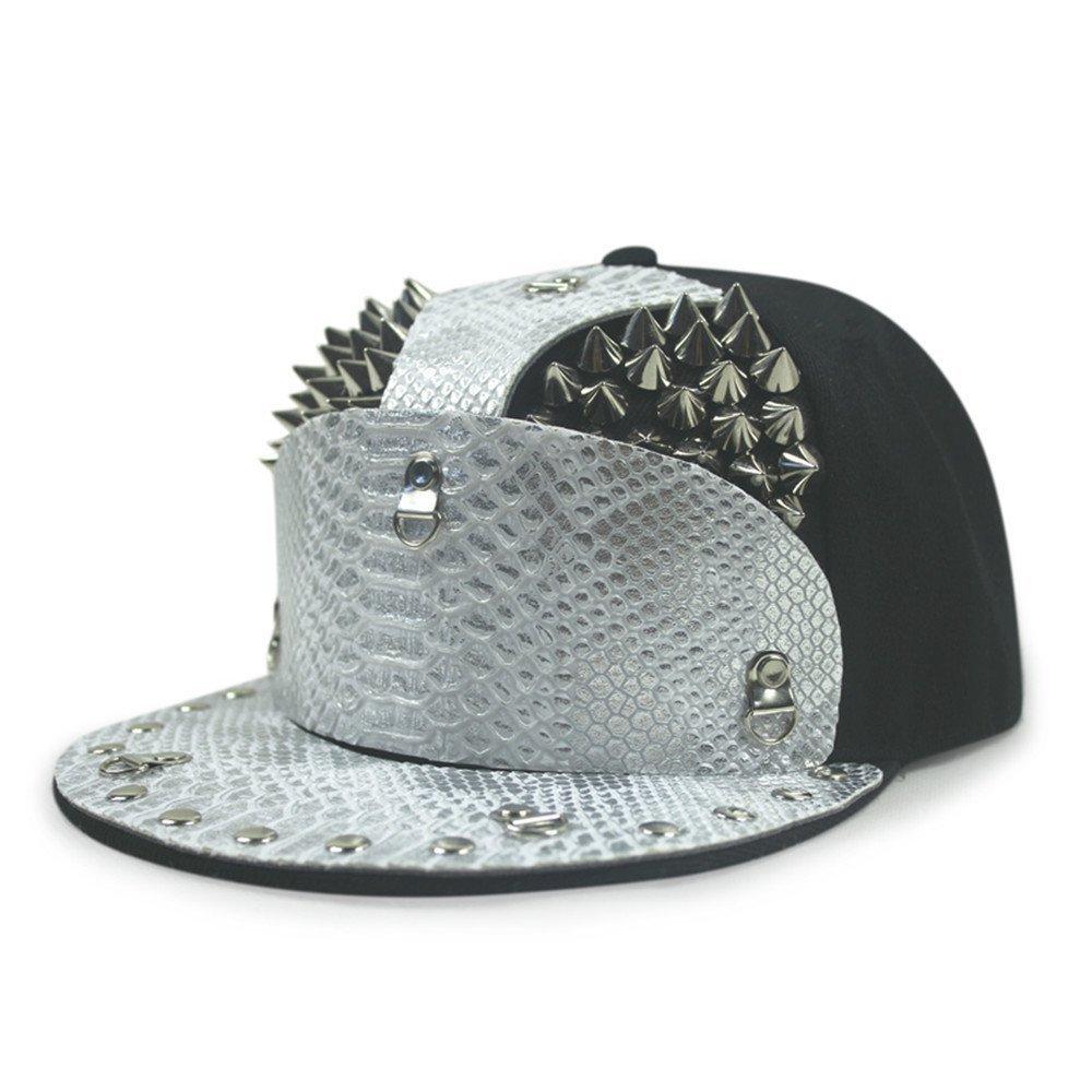 825de2be28735 Get Quotations · Women Dingping hat tip snakeskin stitching Liu men and  women outdoor performance hip-hop baseball