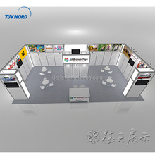 Free design exhibition booth design, Shanghai factory produce trade show exhibition display portable to Australia