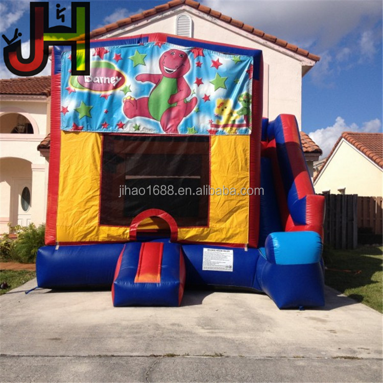 Incredible Used Commercial 4 In 1 Inflatable Barney Bounce House For Sale Buy Inflatable Bounce House Cheap Bounce Houses Big Bounce Houses For Sale Product On Download Free Architecture Designs Meptaeticmadebymaigaardcom