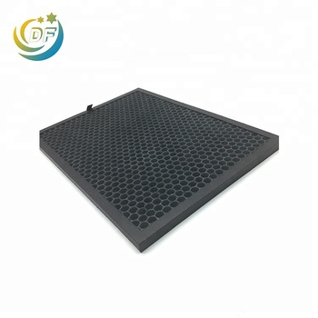 Honeycomb activated carbon fiber filter sheet gas mask sheets