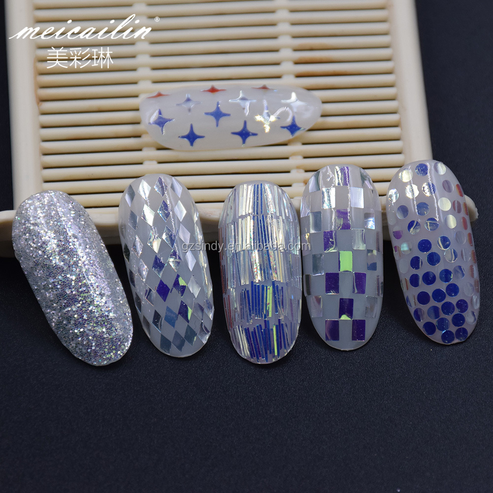 Wholesale DIY Nail Art Mix Shaped Sequins for Nail Decoration