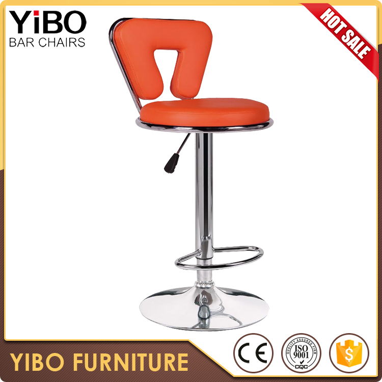high quality better price high top metal chrome bar stool swivel